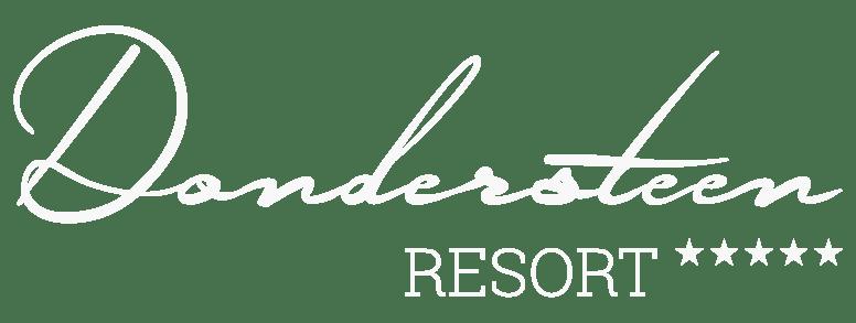 Dondersteen Resort Logo Portada Blanco